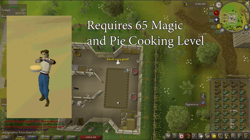 OSRS Pie Cooking