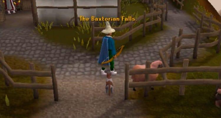 Descending Baxtorian Falls