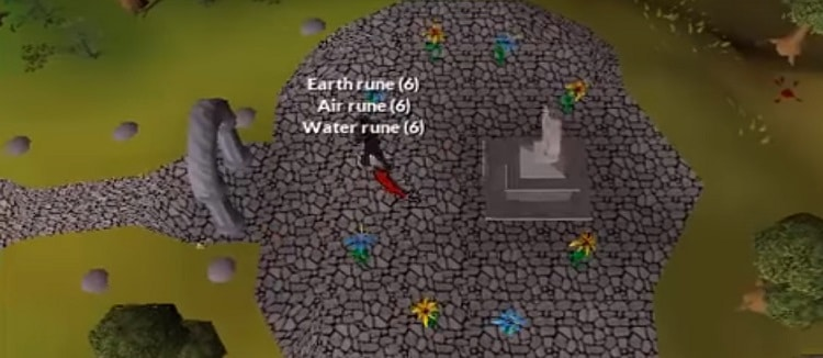 Waterfall Quest Items