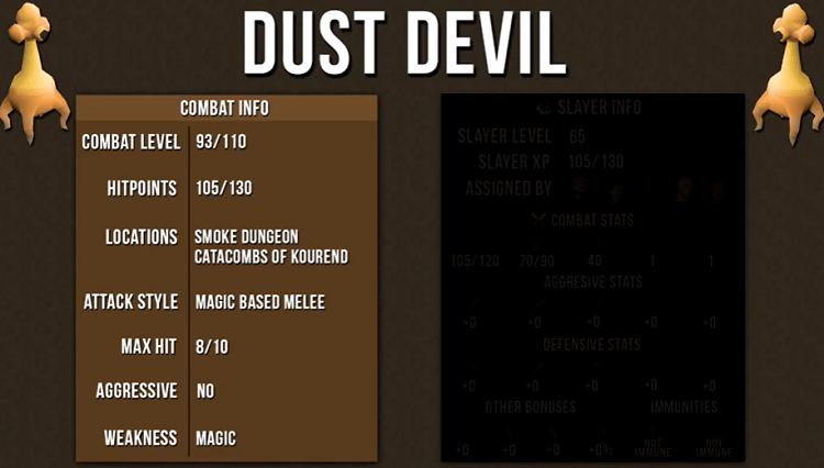 Dust Devil Info