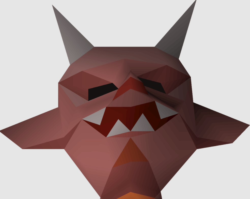 Ensouled demon head