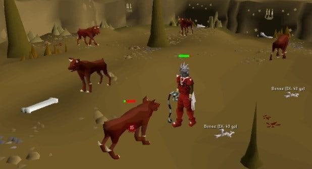 Hellhounds Attack