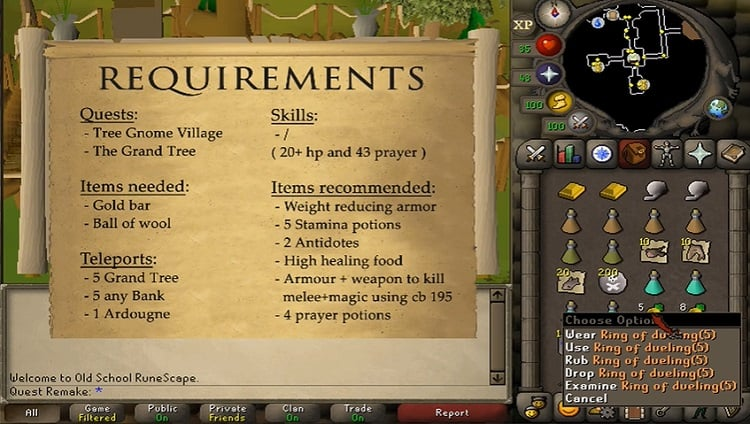 What is The Monkey Madness Quest In OSRS